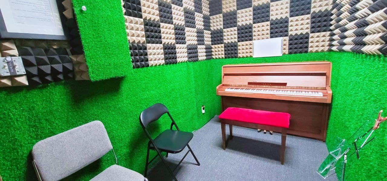 Piano Practice Room